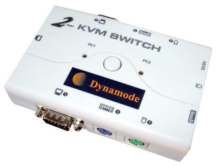 KVM, 2 PORT, PS2, COMPUTER SWITCH FUNCTION MANUAL, COMPUTER SWITCH FOR DYNAMODE