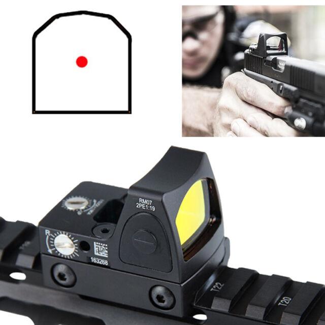 For Glock 3.25 MOA RMR Reflex Mini Red Dot Sight Collimator Scope fit 20mm Rail
