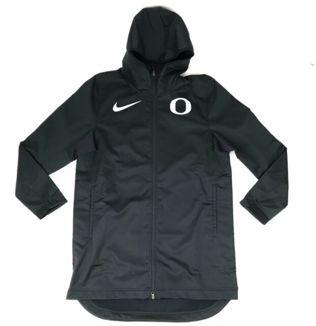 Nike Oregon Protect AJ6719 Jacket Black Ducks Men's Basketball New Large Parka rshdtQC