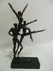 Bronze Figurine Sculpture Personnages Groupe N004-afficher Le Titre D'origine Qxnbbwzb-10103914-526773056