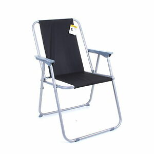Details About Folding Camping Deck Chair Garden Lawn Patio Spring Foldable Seat Outdoor Bbq
