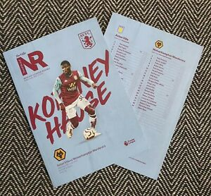 Aston-Villa-v-Wolves-Wolverhampton-BCD-Programme-27-6-20-READY-TO-POST