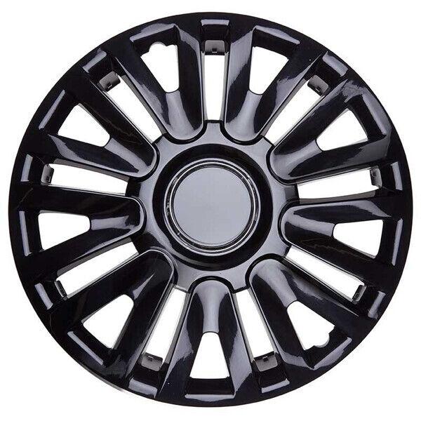 4x15/'/' Wheel trims Hub caps for Citroen Berlingo 15/'/' new full set black//red