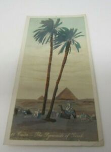 Cairo Egypt Pyramids of Gizeh Postcard