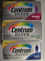 Centrum Silver Multivitamin Supplement Men Or Women Or Adult 65-125 Count