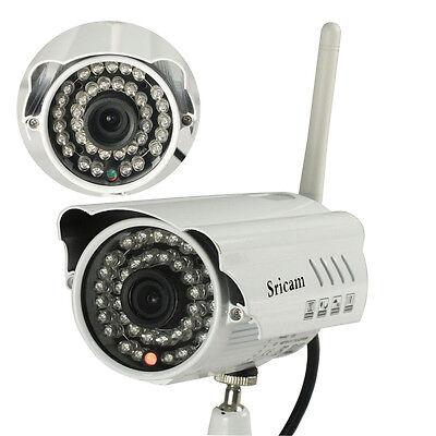 Sricam Wifi Wireless IP CCTV Camera Security Network IR Night Waterproof Remote
