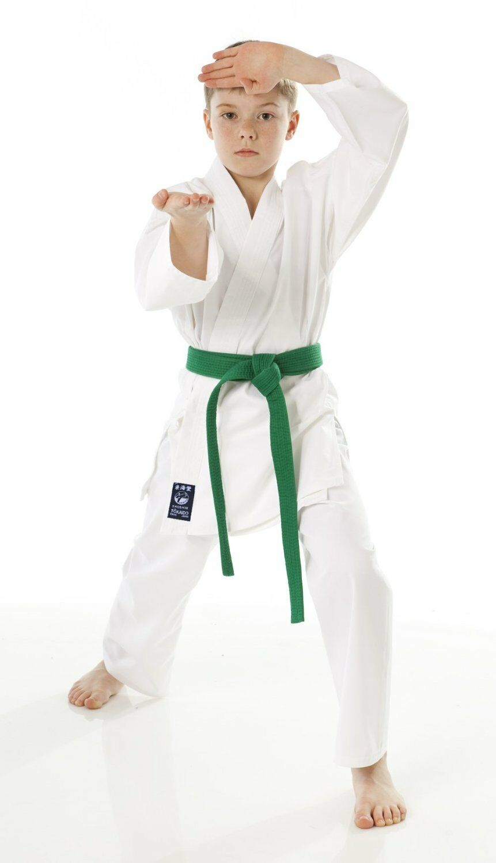 Tokaido Karate Student Gi with belt  - Shoshin  low-key luxury connotation