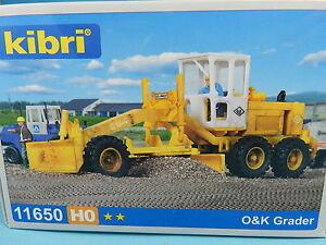 KIBRI-MODELLBAUSATZ-11650-O-amp-K-GRADER-1-87