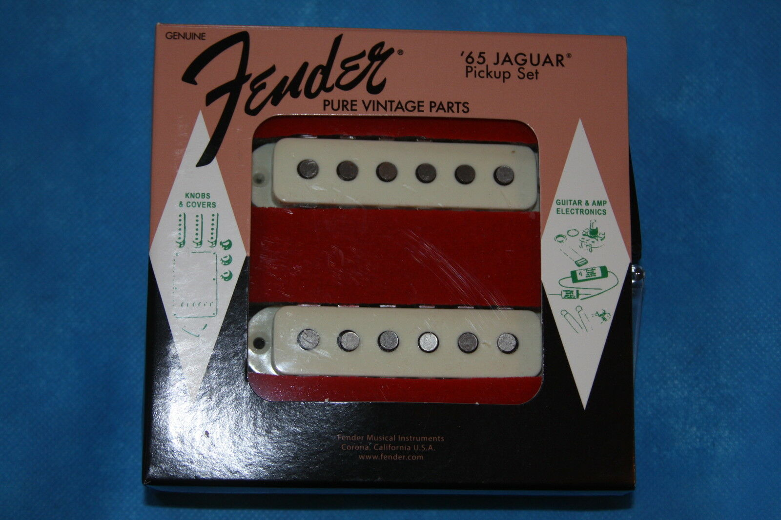 Fender American Vintage'65 Jaguar Pickup Set, MPN 0992238000