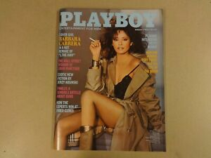 ENGLISH-MAGAZINE-PLAYBOY-MARCH-1982-BARBARA-CARRERA