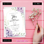 Personalised-Birthday-Invitations-Rustic-Party-Invites-30th-40th-50th-60th-70th thumbnail 7