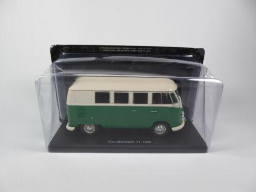 Volkswagen Combi T1 1960 1//24 Salvat Voiture miniature Diecast car E012