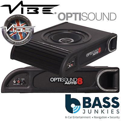 Vibe liteair optisound 8 activamente extra plana subwoofer con Class A//B etapa final 900w