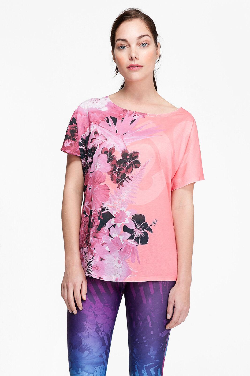 DESIGUAL Sport-Kollektion Shirt TS_L T-S OVERSIZE A  salomon pink