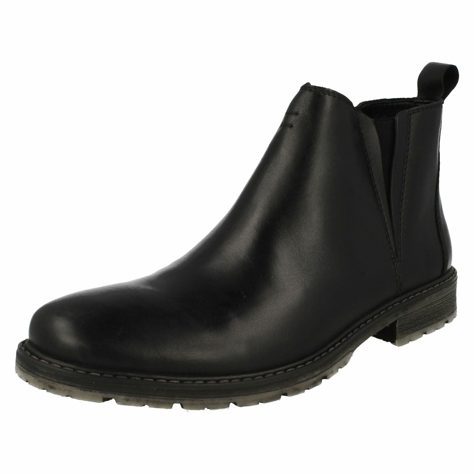 Mens Rieker Smart Zip Up Ankle Boots '38150'