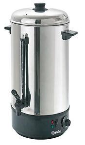 Bartscher Wasserkocher Boiler Glühweintopf 200054 10 Liter Edelstahl ...