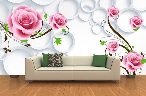 3D Cartoon Flowers Vines 589 Paper Wall Print Wall Decal Wall Deco Indoor Murals