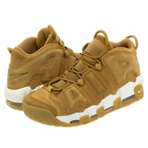 NIKE AIR MORE UPTEMPO  96 PRM FLAX GUM BROWN WHEAT PIPPEN  AA4060 ... bf48f434f