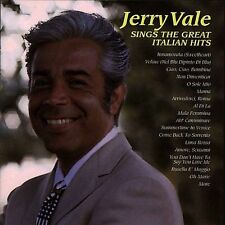 Jerry Vale : Sings Great Italian Hits CD (1999)