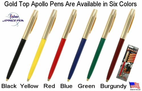 Apollo Series Pen in Blue /& Chrome Fisher Space Pen #S251-BLUE