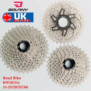 8-9-10-11S-Road-Bike-Cassette-11-25-28-32-36-Sprocket-Chain-Fit-Shimano-SRAM-KMC