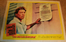 Burt Lancaster 'The Devil's Disciple' Lobby Card