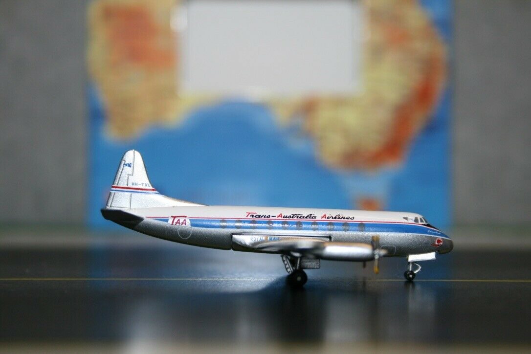 suministramos lo mejor Aeroclassics 1 1 1 400 TAA Trans Australia Vickers súper vizconde VH-TVL (acvhtvl)  tiempo libre