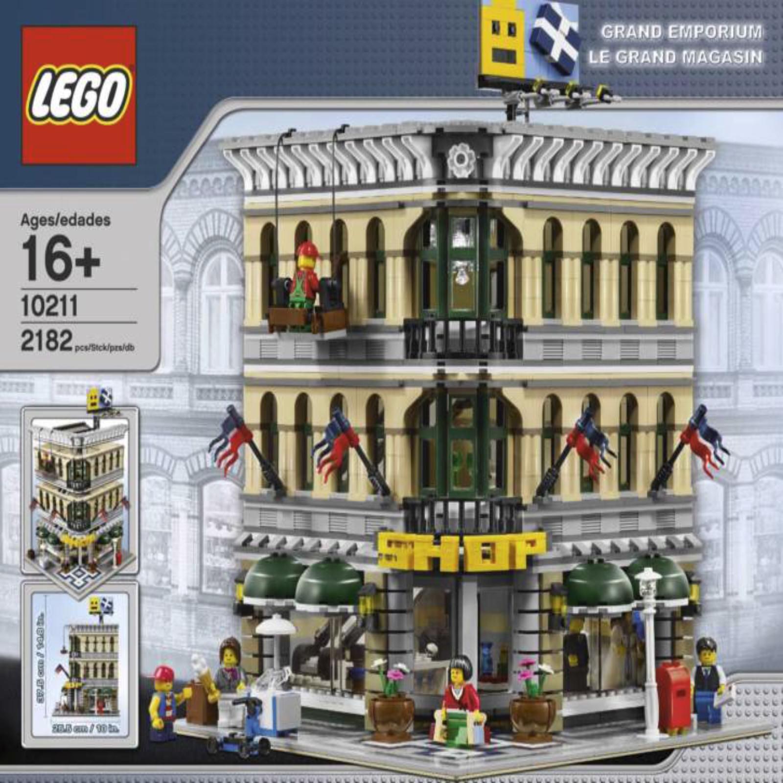 LEGO Grand Emporium 10211 Modulaire Construction Construction Construction  Brand New & Sealed  retraité  RARE 2414ea