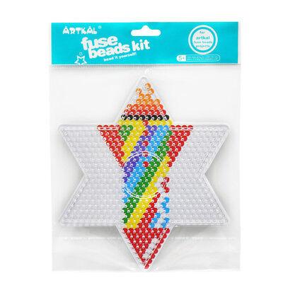 Hart Arbeitend Artkal Steckplatte Für 2,6 Mm Bügelperlen Stern 10 Cm 100% Garantie Bügelbilder Spielzeug