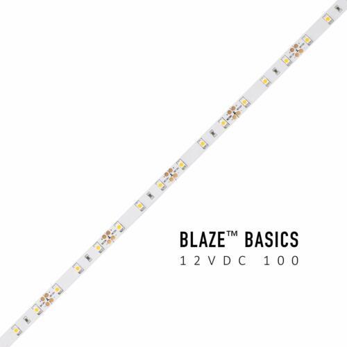Diode LED Blaze Basics 100 LED Tape Light 12V 2700K 16.4ft Spool 1.46w//ft