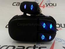 FORD FOCUS MK1 98-04 BLUE LED 2 WAY ELECTRIC WINDOW SWITCH SET + FREE UK POSTAGE