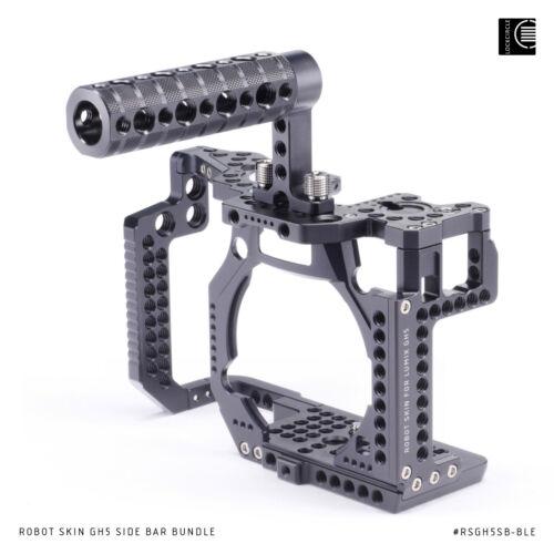Cage Robot Skin Side Bar Bundle for Panasonic Lumix GH5 GH5s