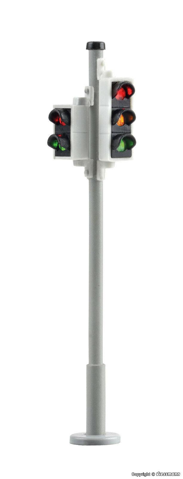 Viessmann h0 5095 2 semafori M. semaforo pedonale LED Nuovo/Scatola Originale