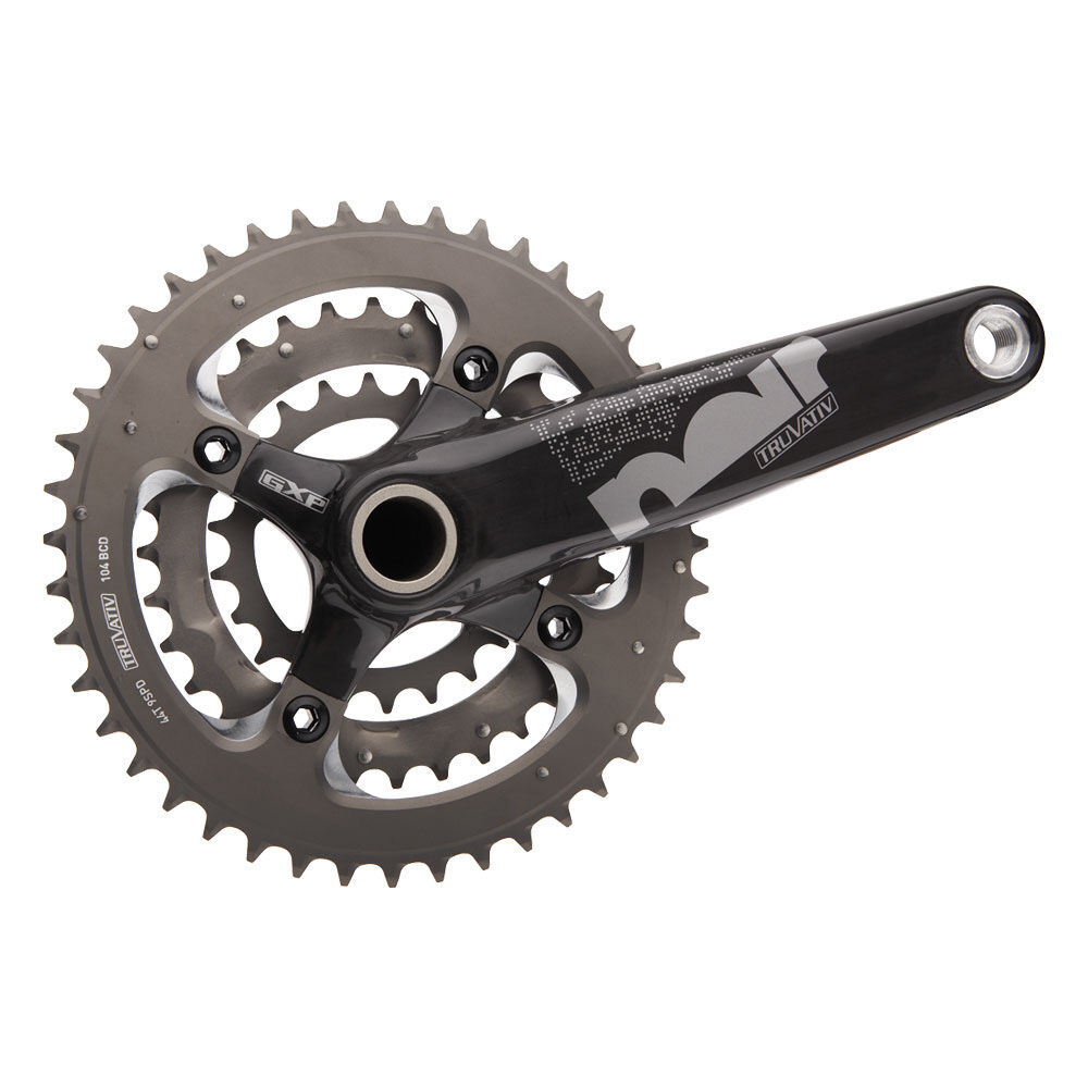 Crankset Triple Truvativ schwarz XC 3.3 Team Mountain Bike Crankset 175