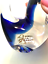 thumbnail 4 - Rubelli V.A. Murano Italy Art Glass Blue Bird Original Label 6 inches Tall