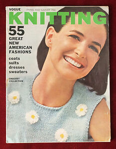 b10a2b1e4648 Image is loading Vogue-Knitting-Spring-Summer-1966-Crochet-Collection-Great-