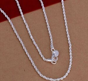 femme-chaine-en-ARGENT-TORDU-925-plt-40-60cm-2mm-collier-bijou-pour-NK1