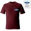 Officiel-Ford-Motor-Company-logo-sur-la-poche-tee-shirt-Homme miniature 5