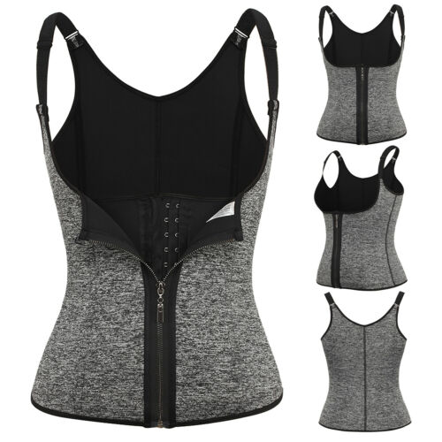 Women Waist Trainer Tummy Control Fat Burner Vest Shapewear Weight Loss Shaper