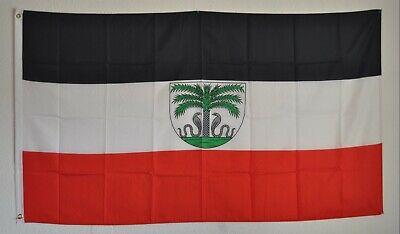 Flagge Fahne Deutsch Togo Hissflagge 90 x 150 cm