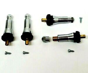 4-TPMS-Chrome-Valve-Stem-Rebuild-Kit-Tire-Pressure-Sensor-Service-Pack-TPMS-413C