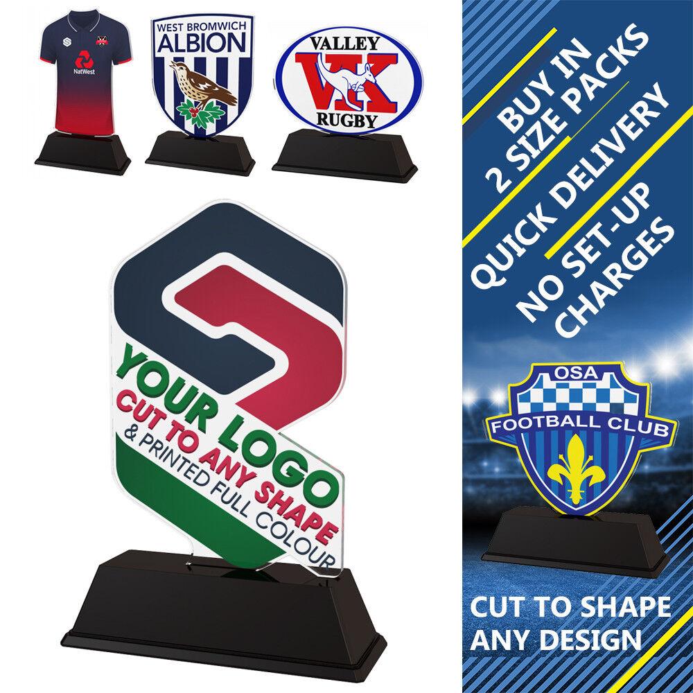 15x Nuoto Club Logo Stampato 100mm 100mm 100mm personalizzato Acrilico trofei GRATIS Incisione | Nuovo design  1bcbda