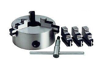 Mandrino autocentrante per tornio 3+3 griffe Ø 200mm