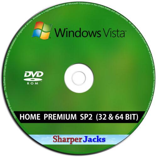 Windows Vista Home Premium Install Reinstall Restore Repair Recovery