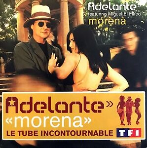 Adelante-CD-Single-Morena-France-VG-M