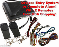 Universal Car Remote Central Kit Door Lock Locking Vehicle Keyless Entry System