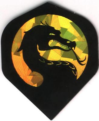 Mortal Kombat Dragon of Death Dart Flights: 3 per set