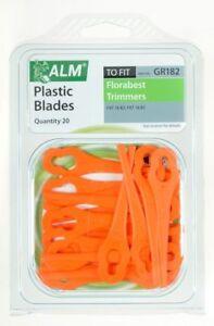 Plastic Blades For Florabest Lidl Gardenline Grizzly Gude