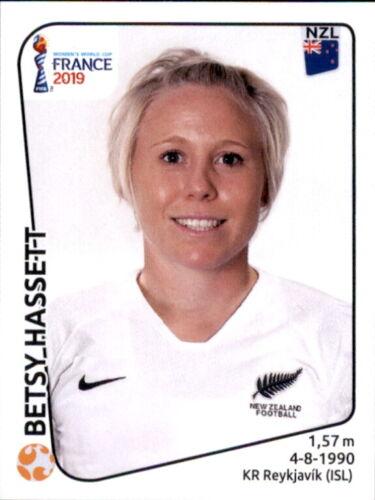 Panini Frauen WM 2019 Sticker 376 Neuseeland Betsy Hassett