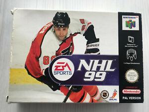 NHL 99 NINTENDO 64 N64 PAL CIB